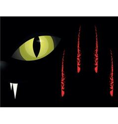 Cats eyes vector