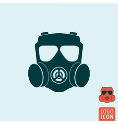 Gas mask icon isolated vector image