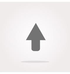 icon arrow - web button Web Icon Art vector image