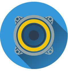 Loudspeaker icon vector image