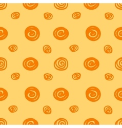 Seamless background with the abstract circles vector image vector image