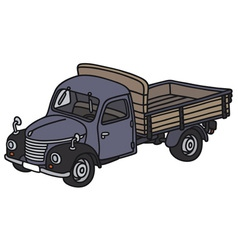Classic truck vector image vector image