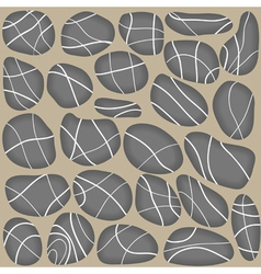 Stones seamless background vector image vector image
