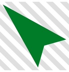 Arrowhead Left-Up Icon vector