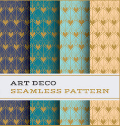 Art deco seamless pattern 50 vector