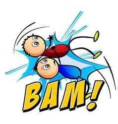 Bam logo vector
