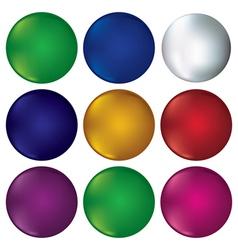 Coloured circles vector