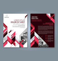 Cover annual report 877 vector
