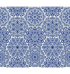 Dark blue ornamental pattern vector