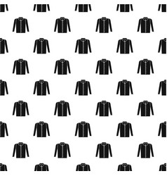 Shirt pattern vector
