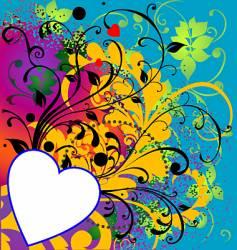 wild heart ii vector image