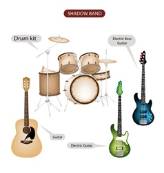 Band Music Equipment vector image vector image