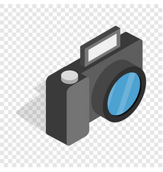 camera isometric icon vector image