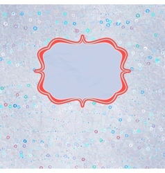 Be my valentine - vintage design vector image vector image