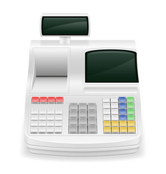 cash register stock vector image vector image