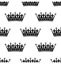 Royal heraldic seamless pattern vector image vector image