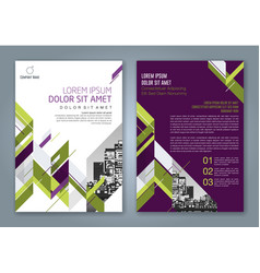 Cover annual report 882 vector