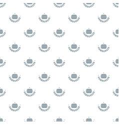 hamburger pattern seamless vector image