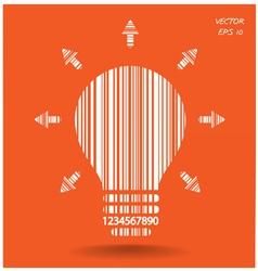 Light bulb sign vector