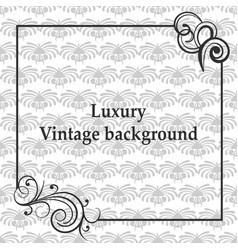 Luxury ornamental background vector