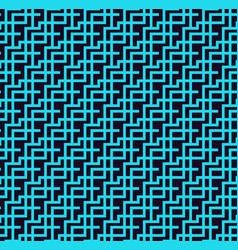 seamless pattern modern stylish linear texture vector image