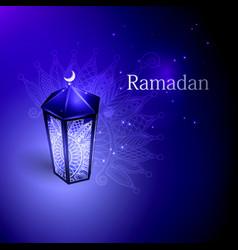 the concept of ramazan vector image