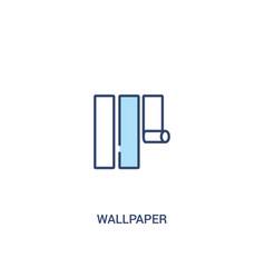 Wallpaper Concept 2 Colored Icon Simple Line
