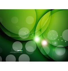Futuristic white wave design vector image vector image