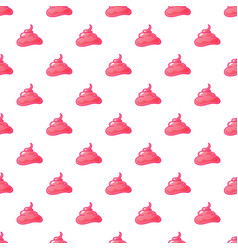 funny pink cream background seamless pattern vector image vector image