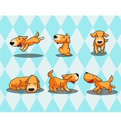 Happydog vector image