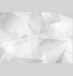 white abstract pattern of geometric shapes vector image vector image