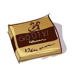 A chocolateA chocolate vector