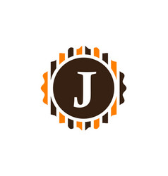 Best quality letter j vector