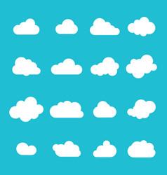 cloud icon sky clouds set cloud set vector image