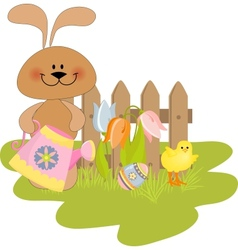 Cute Easter vector