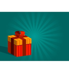 gift vector image