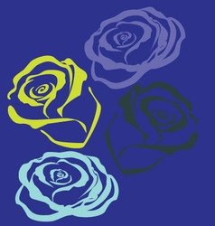 La rose vector