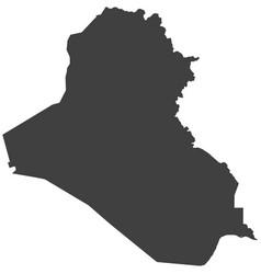 Map of iraq vector