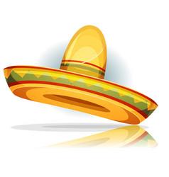 Mexican sombrero vector