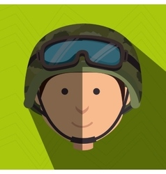 War soldier design vector