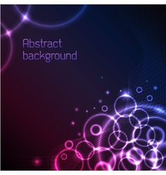 Abstract plasma background vector