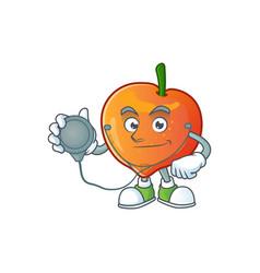 Doctor nectarian fresh cartoon character vector