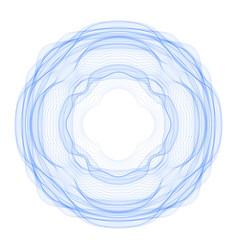 Guilloche graphics vector