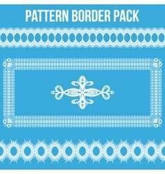 Pattern Border Pack vector image