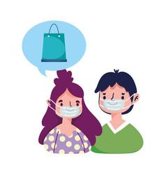 People order digital ecommerce online shopping vector