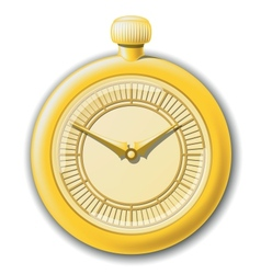 retro clock vector image