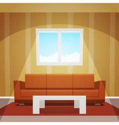 Room Window vector image