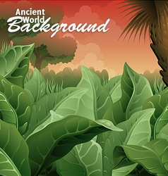Ancient world background vector