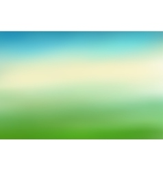 Blue and green blurred background vector