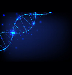 dna sci-fi science abstract background vector image